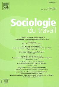 Sociologie du travail. n° 2 (2009), Le plafond de verre dans tous ses éclats : la féminisation des professions supérieures au XXe siècle
