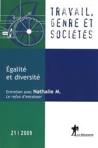 Travail, genre et sociétés. n° 21, Egalité et diversité