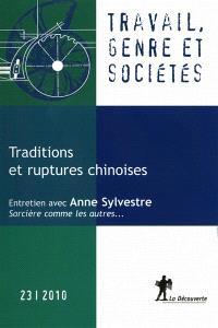 Travail, genre et sociétés. n° 23, Traditions et ruptures chinoises