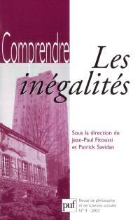 Comprendre. n° 4 (2003), Les inégalités