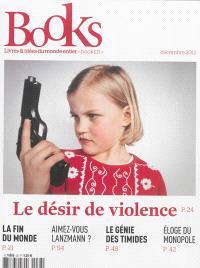 Books. n° 38, Le désir de violence