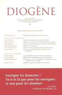 Diogène. n° 197, Quels savoirs pour quelles sociétés ?