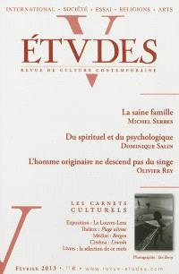 Etudes. n° 418-2