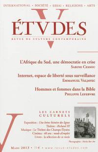 Etudes. n° 418-3