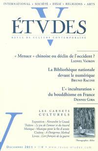 Etudes. n° 415-6