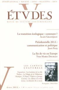 Etudes. n° 416