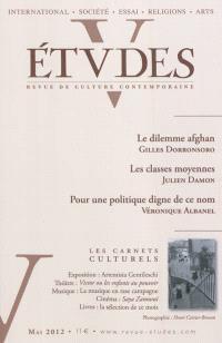 Etudes. n° 416-5