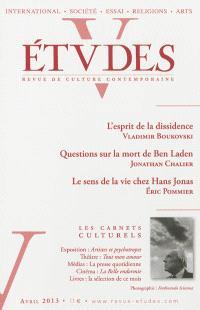 Etudes. n° 418