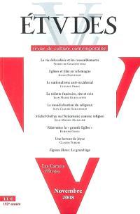 Etudes. n° 409-5