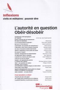 Inflexions. n° 24, L'autorité en question, obéir-désobéir