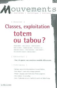 Mouvements. n° 26, Classes, exploitation, totem ou tabou ?