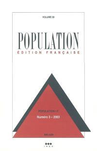 Population. n° 3 (2003)