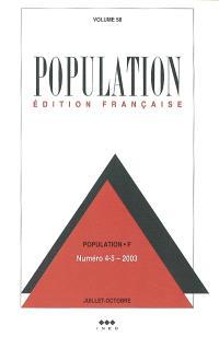 Population. n° 4-5 (2003)