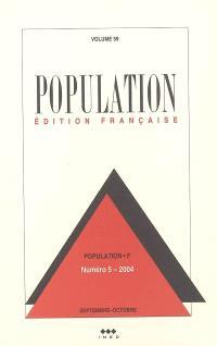 Population. n° 5 (2004)