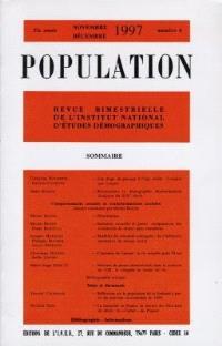 Population. n° 6 (1997), Comportements sexuels et transformations sociales