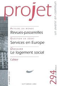 Projet. n° 294, Le logement social
