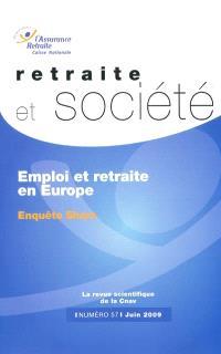 Retraite et société. n° 57, Emploi et retraite en Europe : enquête Share