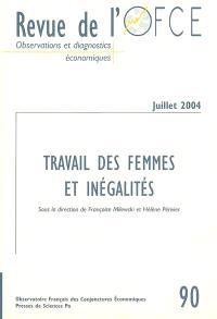 Revue de l'OFCE. n° 90, Travail des femmes et inégalités