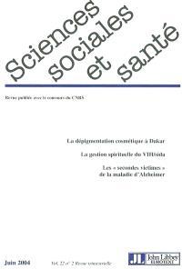 Sciences sociales et santé. n° 2 (2004)