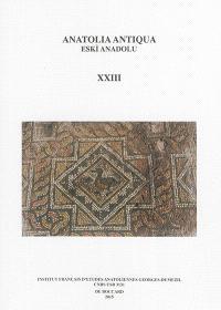 Anatolia antiqua = Eski Anadolu. n° 23