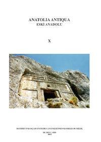 Anatolia antiqua = Eski Anadolu. n° 10