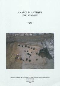 Anatolia antiqua = Eski Anadolu. n° 20