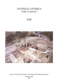 Anatolia antiqua = Eski Anadolu. n° 13