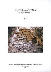 Anatolia antiqua = Eski Anadolu. n° 15
