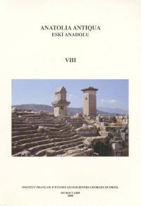 Anatolia antiqua = Eski Anadolu. n° 8