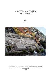 Anatolia antiqua = Eski Anadolu. n° 16