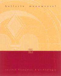 Bulletin monumental. n° 170-1