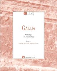 Gallia, archéologie de la France antique. n° 62, Aqueducs de la Gaule méditerranéenne