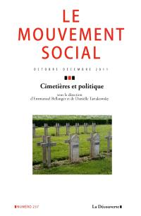 Mouvement social (Le). n° 237, Cimetières et politique