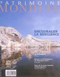Patrimoine mondial. n° 74, Encourager la résilience