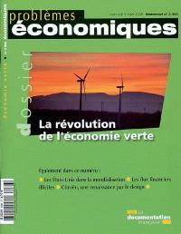Problèmes économiques. n° 2966, La révolution de l'économie verte