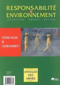 Responsabilité et environnement. n° 41, L'homme malade de l'environnement ?