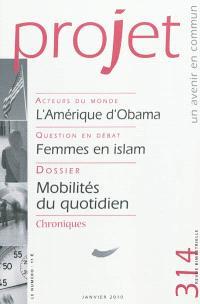 Projet. n° 314, Mobilités du quotidien
