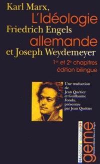 L'idéologie allemande. Volume 1-2