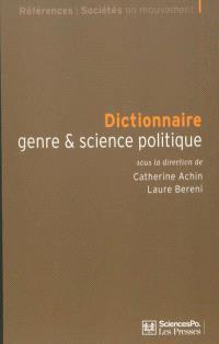 Dictionnaire genre & science politique : concepts, objets, problèmes