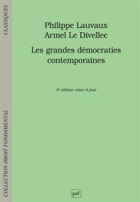 Les grandes démocraties contemporaines