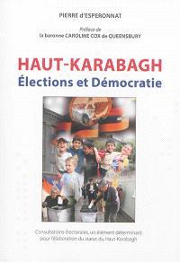 Consultations électorales, un élément déterminant pour l'élaboration du statut du Haut-Karabagh