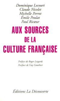 Aux sources de la nation française