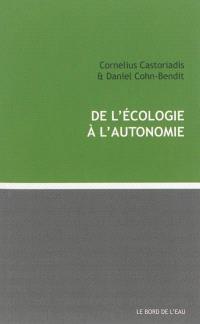 De l'écologie à l'autonomie
