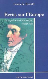Ecrits sur l'Europe