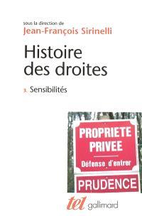 Histoire des droites en France. Volume 3, Sensibilités