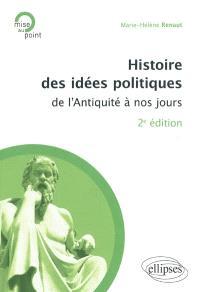 Histoire des idées politiques : de l'Antiquité à nos jours