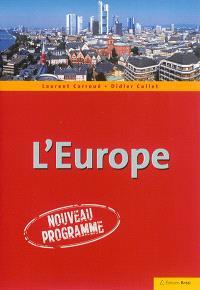 L'Europe : nouveau programme