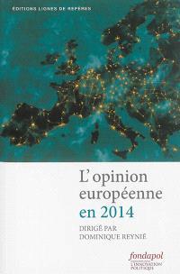 L'opinion européenne en 2014