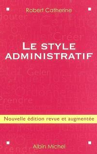 Le style administratif