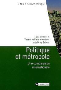 Politique et métropole : une comparaison internationale